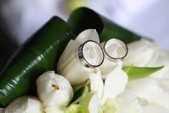 Wedding rings. On the wedding Stock Photography
