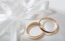 Wedding rings. Stock Photos