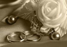 Wedding Rings Royalty Free Stock Photos