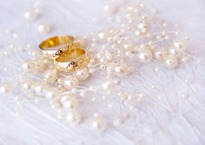Wedding rings Royalty Free Stock Image