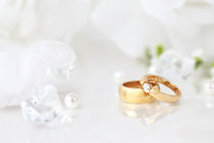 Free Wedding Rings Royalty Free Stock Photography - 19294087