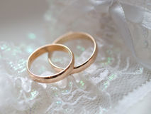 Wedding rings 2 Stock Images