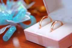 Wedding rings 2 Royalty Free Stock Image
