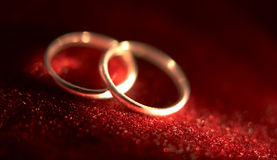 Wedding rings 2 Royalty Free Stock Photography