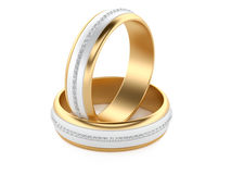 Wedding Rings Stock Images