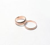 Wedding rings. Obligatory attribute of each wedding - wedding rings Stock Image