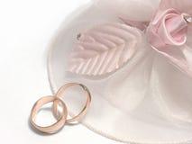 Wedding rings. Obligatory attribute of each wedding - wedding rings Royalty Free Stock Photography