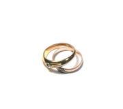 Wedding rings. Obligatory attribute of each wedding - wedding rings Stock Photography