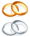 Wedding rings. Stock Photography