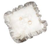 Wedding rings. Isolated on white background Royalty Free Stock Images