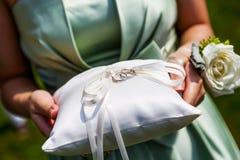 Wedding rings Stock Image