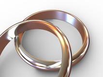 Wedding Rings. Stock Image