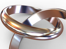 Wedding Rings. Stock Photos