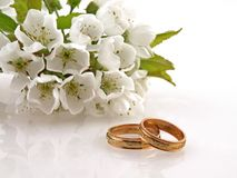 Free Wedding Rings Royalty Free Stock Photography - 5045367