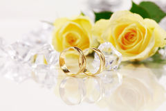 Free Wedding Rings Royalty Free Stock Photography - 5137057