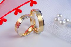 Free Wedding Rings Royalty Free Stock Photo - 5307345