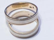Wedding rings. Two wedding rings royalty free stock photo