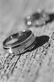 Wedding rings. Close-up of wedding rings Stock Photo
