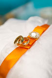 Wedding rings abstract Royalty Free Stock Image