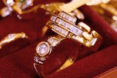 Wedding rings. Close-up. Royalty Free Stock Photos