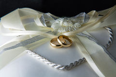 Wedding rings Royalty Free Stock Photos