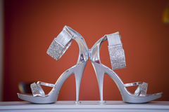 Bridal Shoes  Stock Image