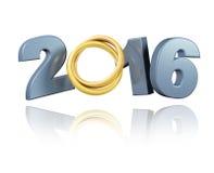 Wedding Rings 2016 design Stock Image