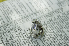Wedding Rings - Eternal Bond Royalty Free Stock Photo