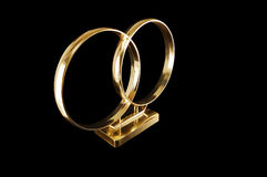 Free Wedding Rings For The Car Royalty Free Stock Photography - 13212017