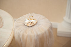 Wedding rings. Royalty Free Stock Photos
