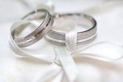 Wedding rings Stock Photo