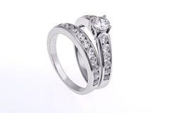 Wedding rings set Royalty Free Stock Image