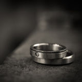 Wedding rings. Two wedding rings Love concept Royalty Free Stock Image