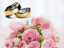 Wedding Rings, Wedding, Before Royalty Free Stock Photo