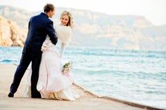 Wedding romance Stock Images