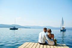 Wedding Romance Stockfoto