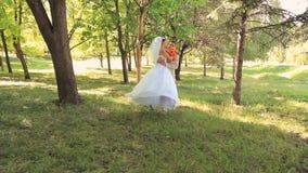Wedding Romance stock video