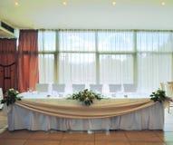 Wedding room Stock Image