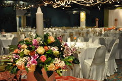 Wedding Room. Decorated and accessories Stock Photography