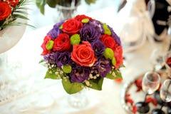 Wedding Rose Bouquet Stock Photos