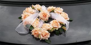 Wedding rose bunch Stock Photo