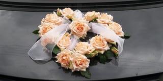 Wedding rose bunch Stock Photo
