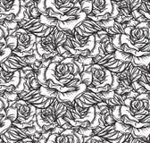 Wedding Rose Seamless Pattern Royalty Free Stock Images