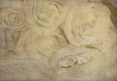 Wedding roses Royalty Free Stock Photos