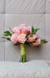 Wedding roses bouquet Stock Photos