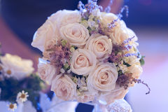 Wedding roses bouquet Stock Photos