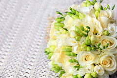 Wedding roses bouquet  Stock Image