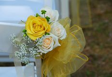 Wedding Roses Bouquet Royalty Free Stock Photography