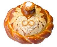 Wedding Round Bread Stock Image