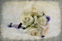Wedding`s bouquet of rose Royalty Free Stock Photo
